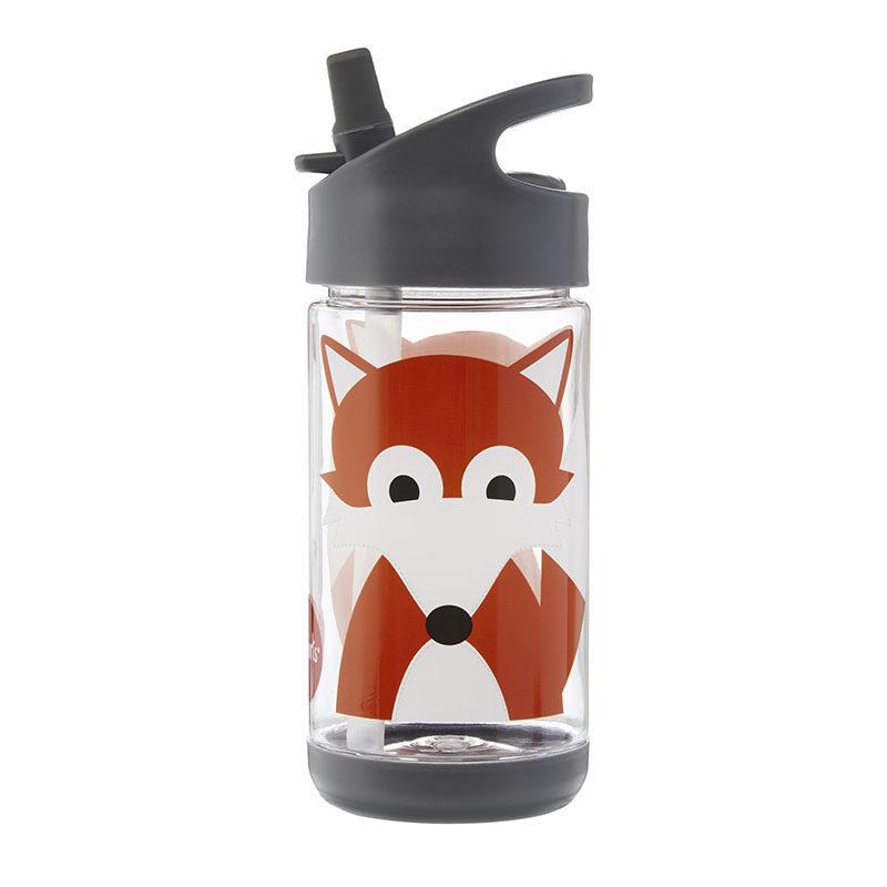 3 Sprouts Бутылочка для воды water bottle, Fox