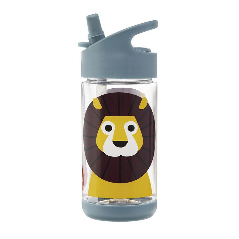 3 Sprouts Бутылочка для воды water bottle, lion