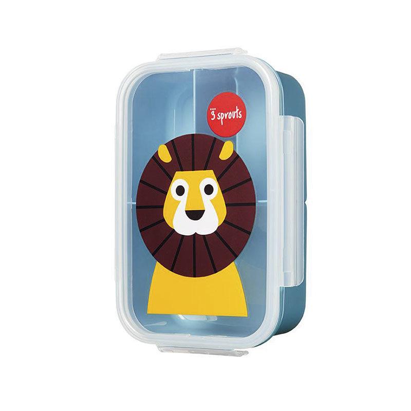3 Sprouts Ланчбокс bento box lion, Львёнок