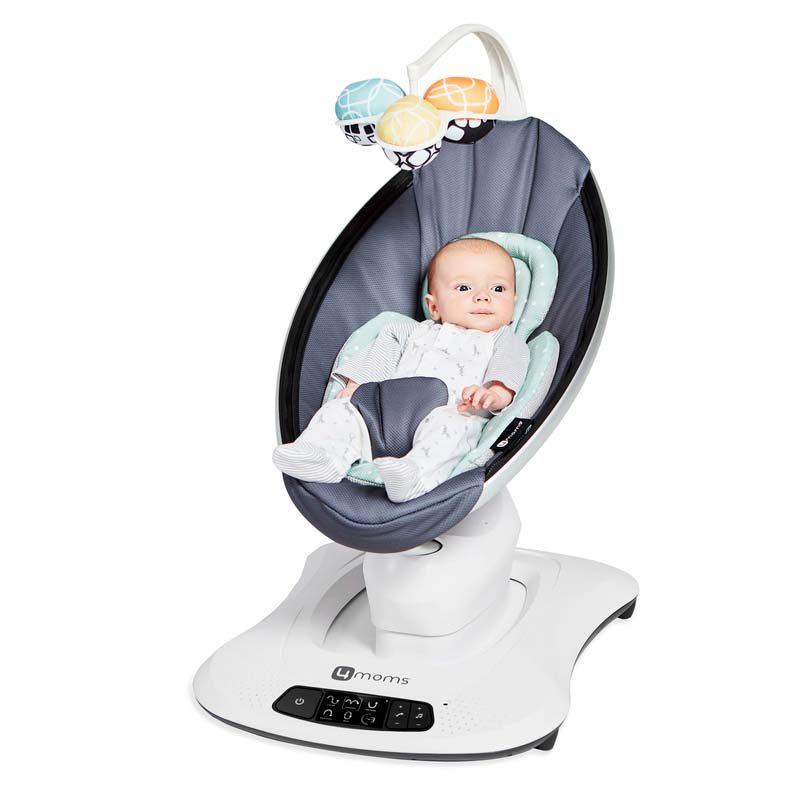 4moms mamaRoo 4.0 Кресло-качалка 4moms, графитовый меш
