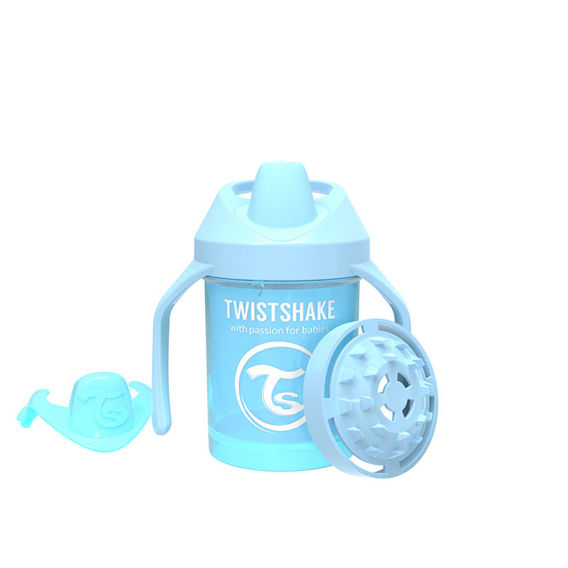 Twistshake Поильник Twistshake Mini Cup, 230 мл, Пастельный синий