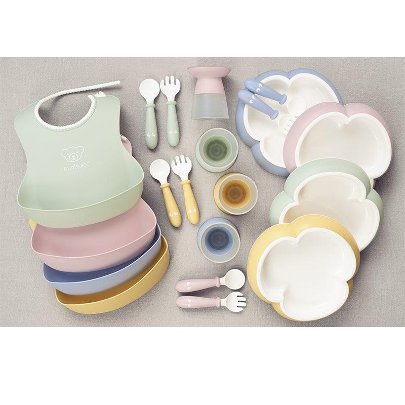 BabyBjorn Набор для кормления (тарелка,кружка,ложка,вилка)