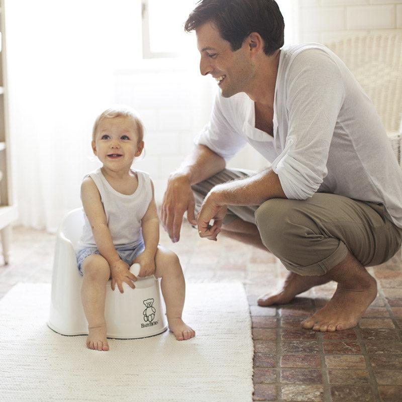 Babybjorn Горшок-кресло, белый 0551.21 (2)
