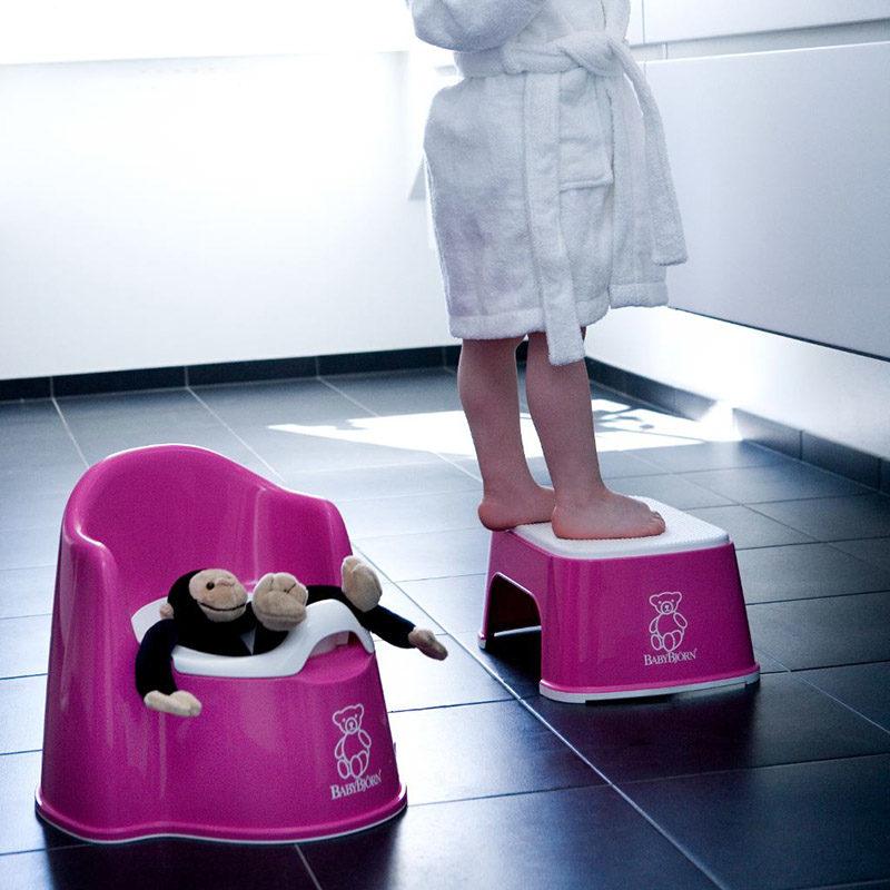 Babybjorn Горшок-кресло, розовый 0551.55-2