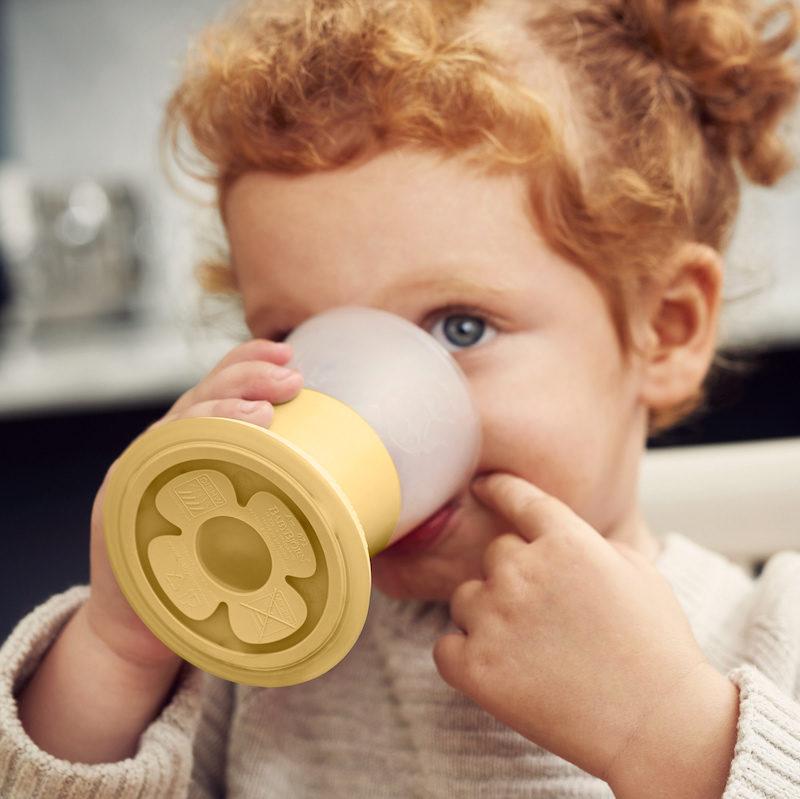 Babybjorn Комплект из 2 кружек в упаковке, нежно-желтый