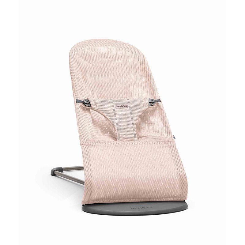 Babybjorn, Кресло-шезлонг Balance Bliss Mesh, Нежно-розовый