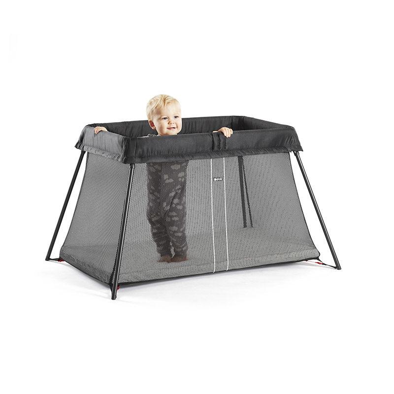 Babybjorn Манеж-кровать для путешествий Mesh, Черный