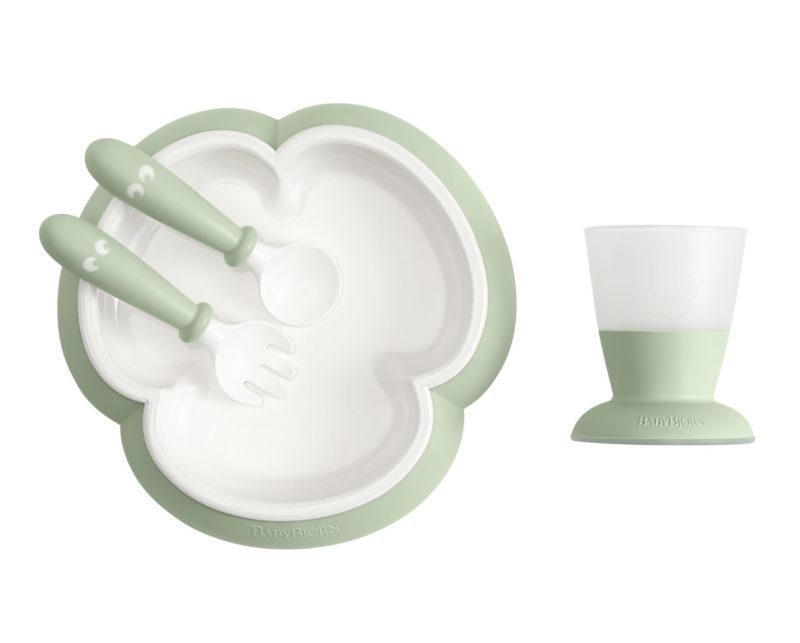 Babybjorn Набор для кормления, Нежно-зеленый