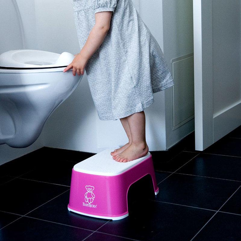 Babybjorn Стульчик-подставка, розовый 0611.55 (2)