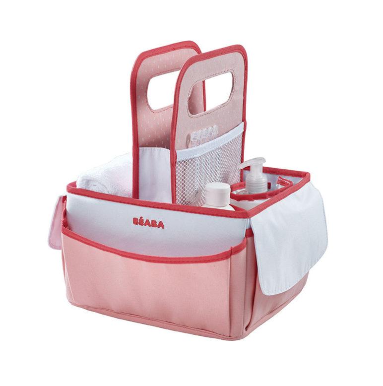 Beaba Сумка для аксессуаров Nursery Basket, Coral