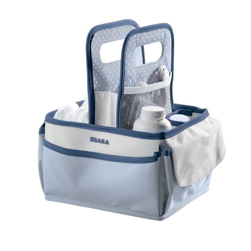 Beaba Сумка для аксессуаров Nursery Basket, Mineral