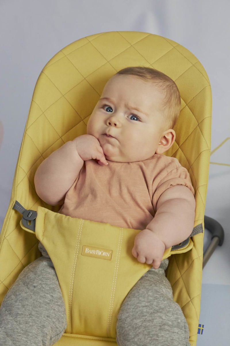 Bouncer Bliss - Yellow, Cotton (8)