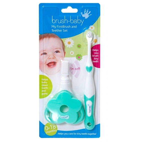 Brush-Baby My FirstBrush and Teether Set