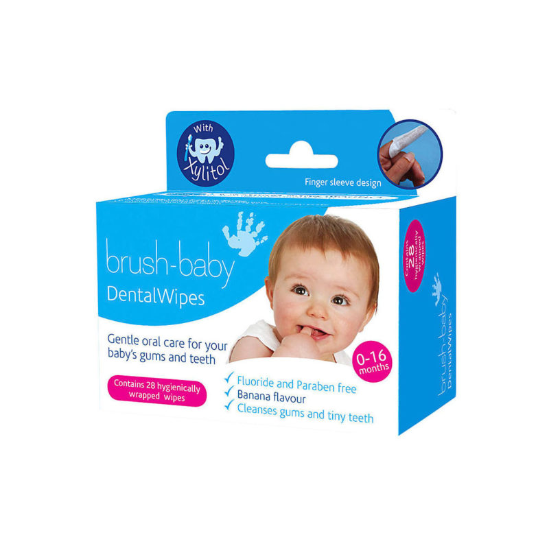 Brush-Baby Салфетки для полости рта 28 шт. Dental Wipers