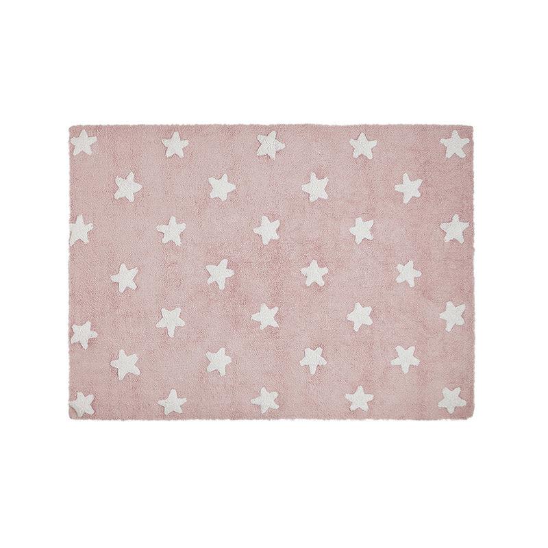 Lorena Canals Ковер Stars розовый с белым 120*160
