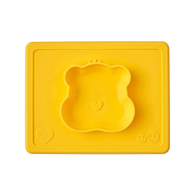 Ezpz Happy Bowl Care Bear Edition Marigold, желтый