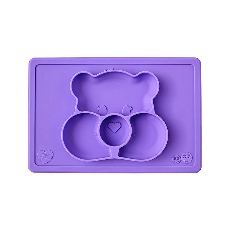 Ezpz Happy Mat Care Bear Edition Purple, фиолетовый
