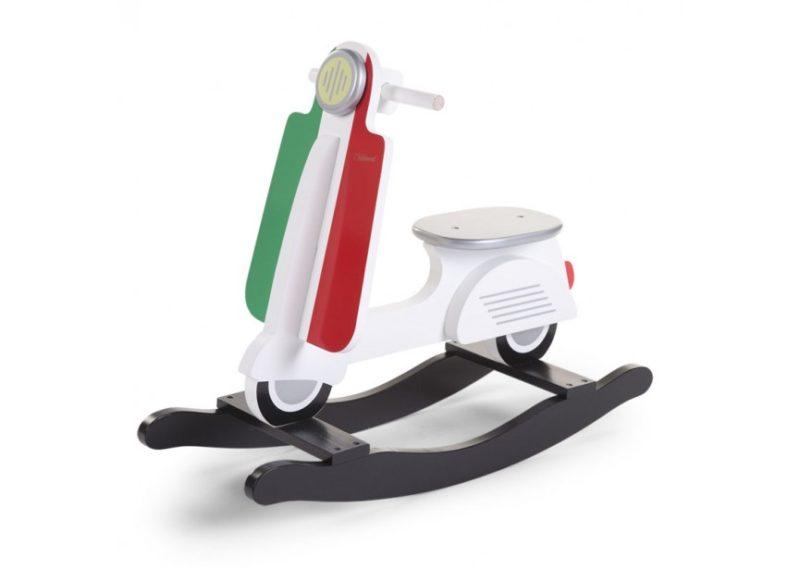 Childhome Мотороллер-качалка Rocking Scooter, Italy-3