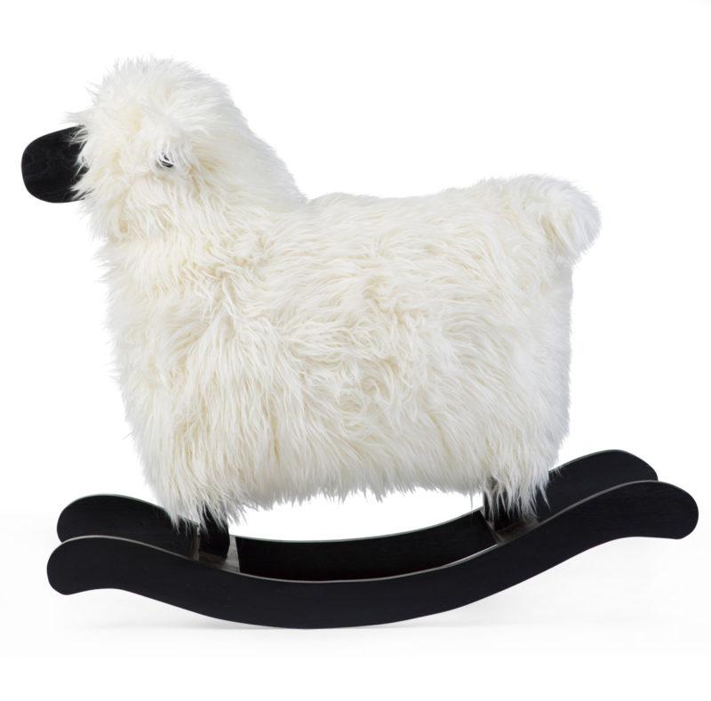 Childhome Овечка-качалка White + Black