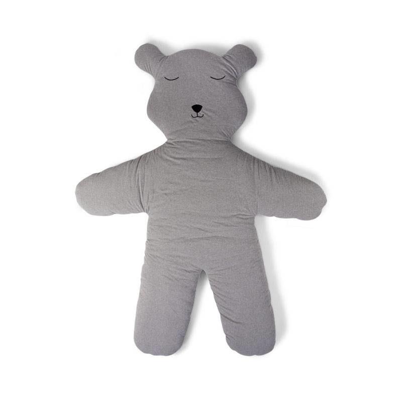 Childhome Мишка Teddy Игровой коврик 150 см, Jersey Grey