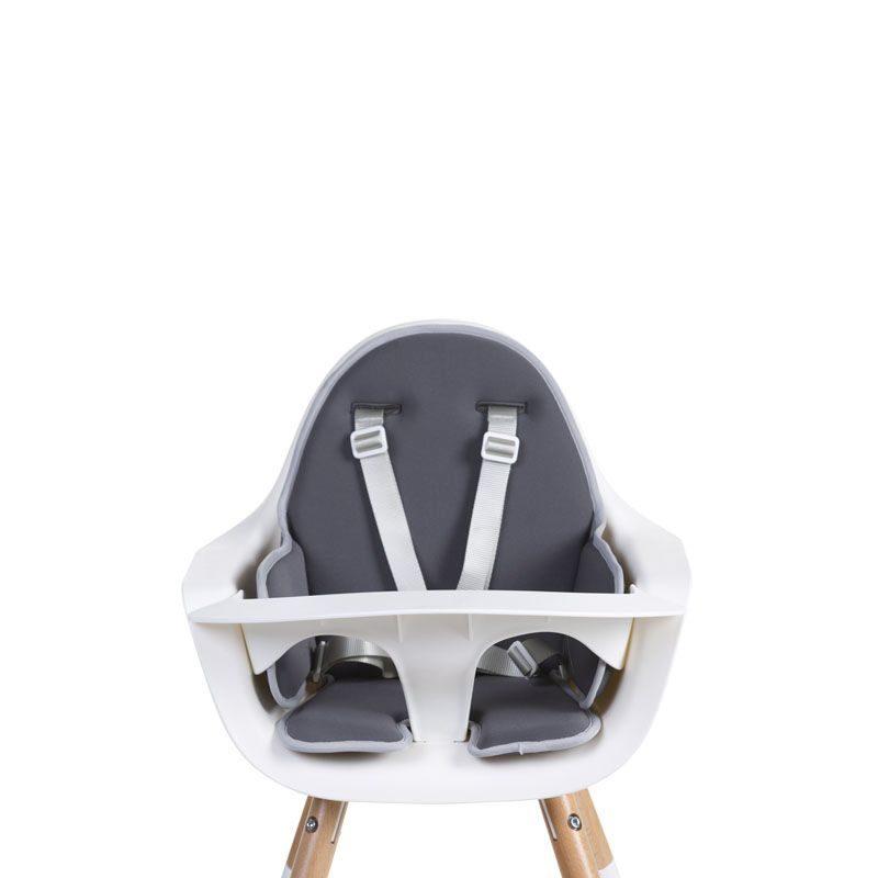 Childhome Подушка для стульчика Evolu 2, Neoprene Dark Grey