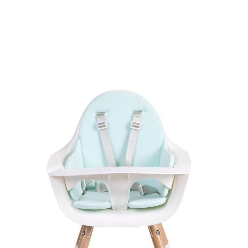 Childhome Подушка для стульчика Evolu 2, Tricot Pastel Mint