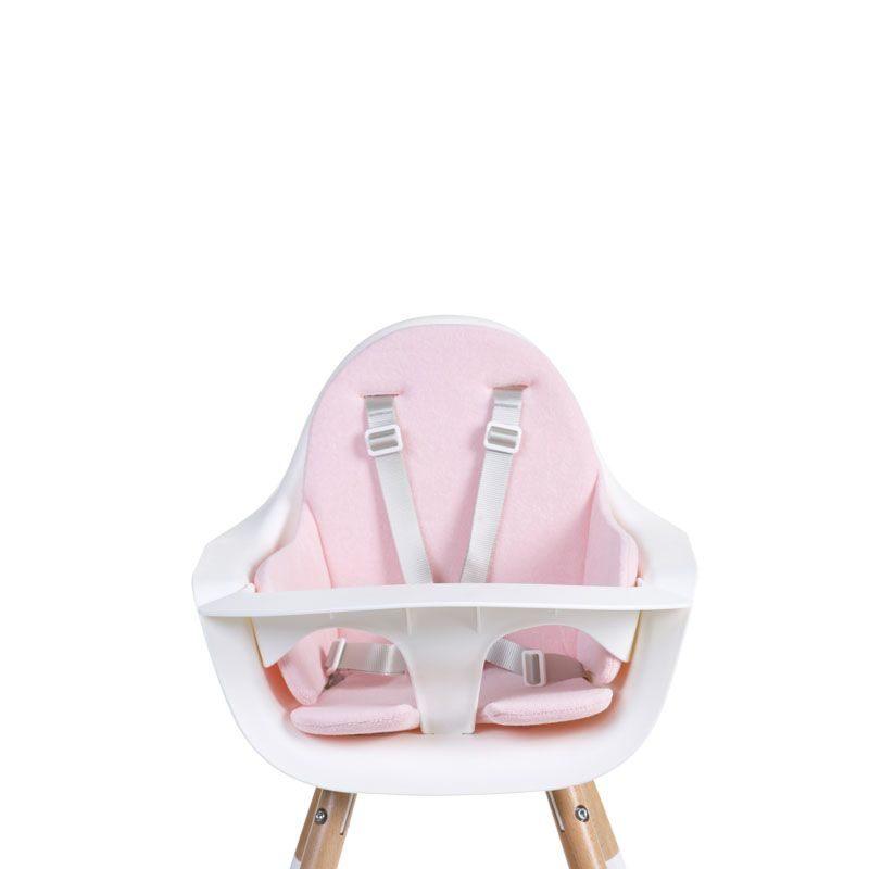 Childhome Подушка для стульчика Evolu 2, Tricot Pastel Old Pink
