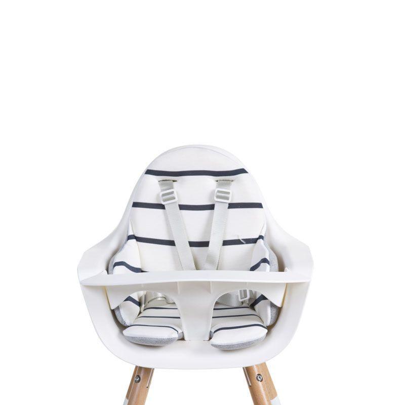 Childhome Стульчик для кормления EVOLU ONE.80° + мягкая подушка (2018)
