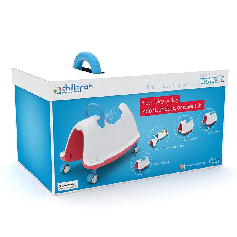 Chillafish ТРЭКИ 4 в 1 (Trackie)
