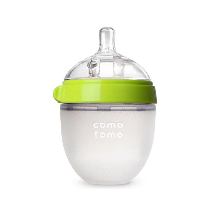 Comotomo Natural Feel Baby Bottle Бутылочка для кормления, зеленый 150 мл Comotomo Natural Feel Baby Bottle Бутылочка для кормления, зеленый 150 мл
