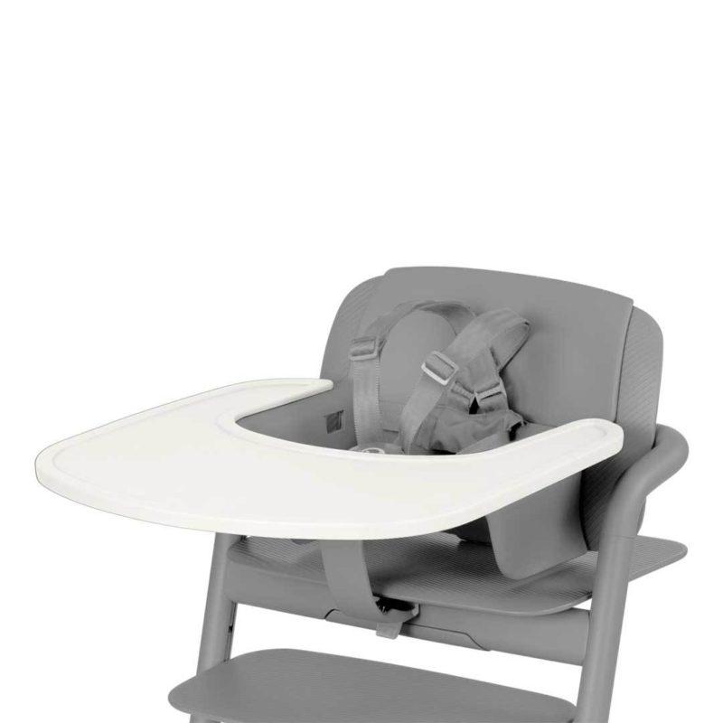 Cybex Столик к стульчику Lemo Tray, Porcelaine White