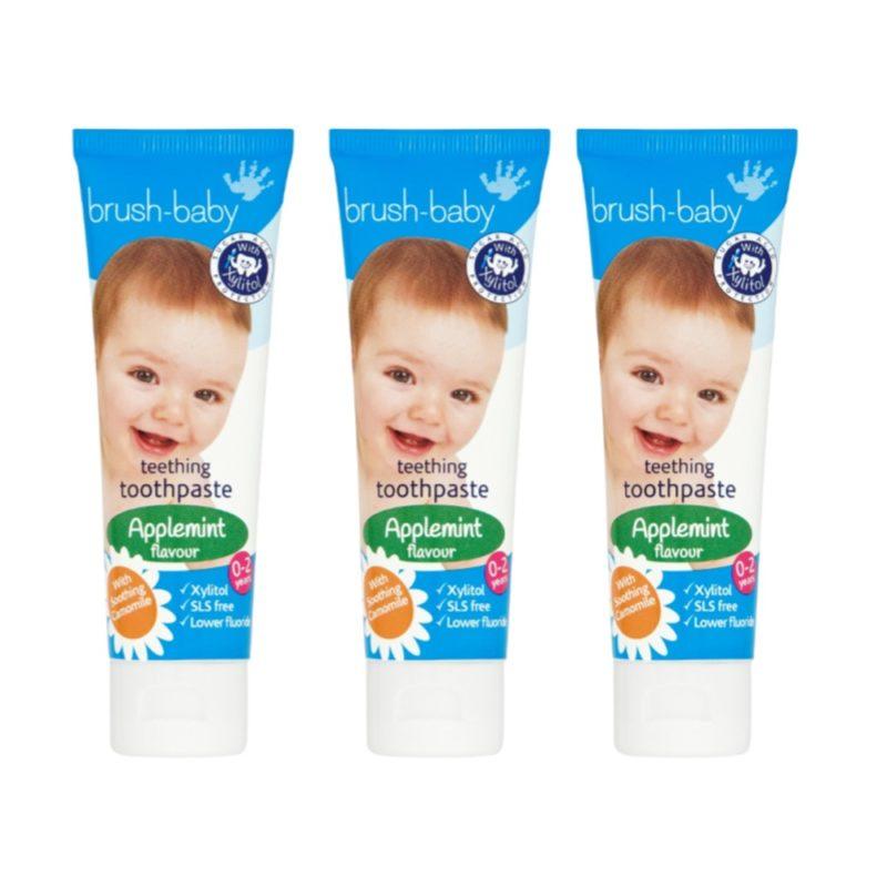 Детская зубная паста Brush Baby