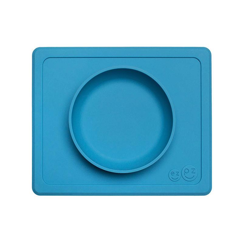 Ezpz Ezpz Mini Bowl Packaged силиконовая тарелка-плейсмат :) бирюзовый