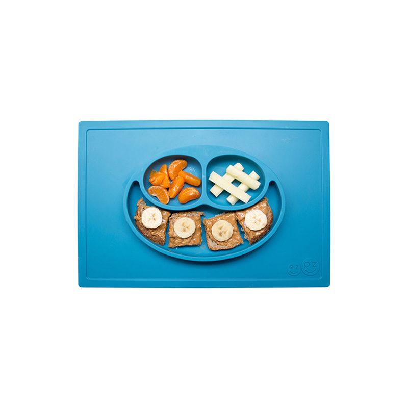 Ezpz Happy mat силиконовая тарелка-плейсмат