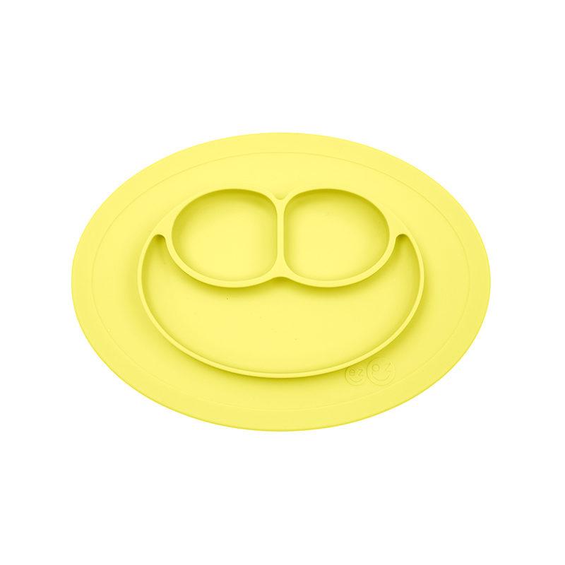 Ezpz Mini Mat Lemon силиконовая тарелка-плейсма лимонный