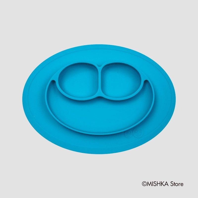 Ezpz Mini Mat силиконовая тарелка-плейсмат голубой