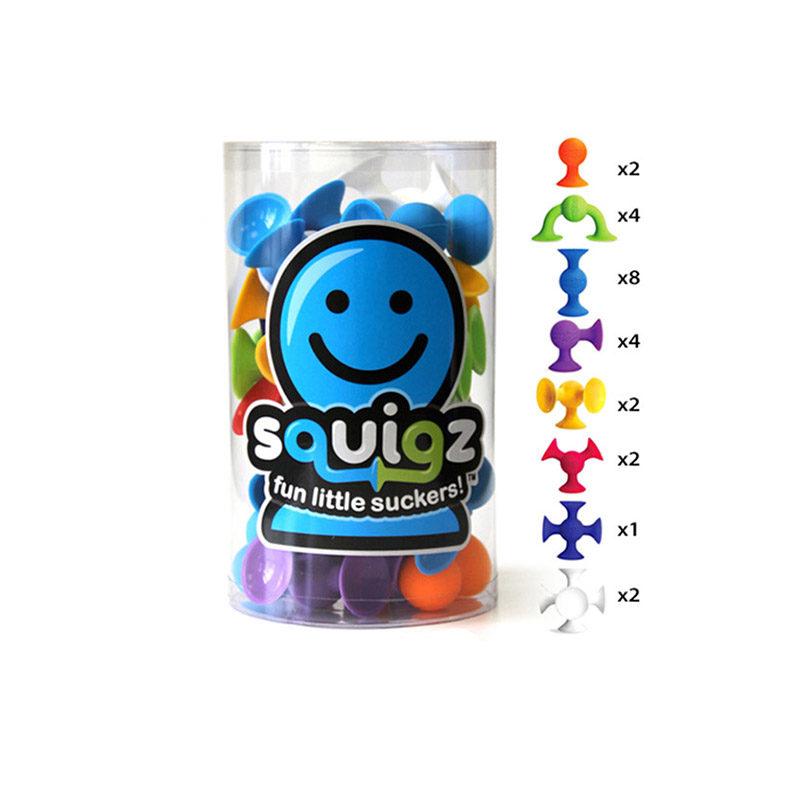 Fat Brain Toys Конструктор Squigz Starter Set