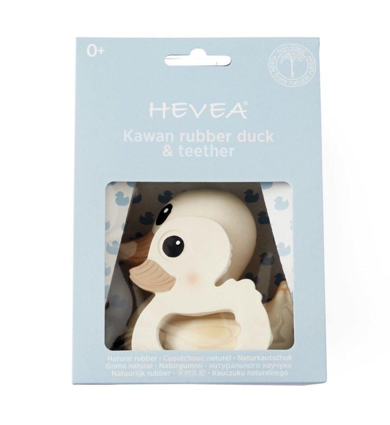 HEVEA Набор подарочный Kawan игрушка для ванной и прорезыватель для зубов