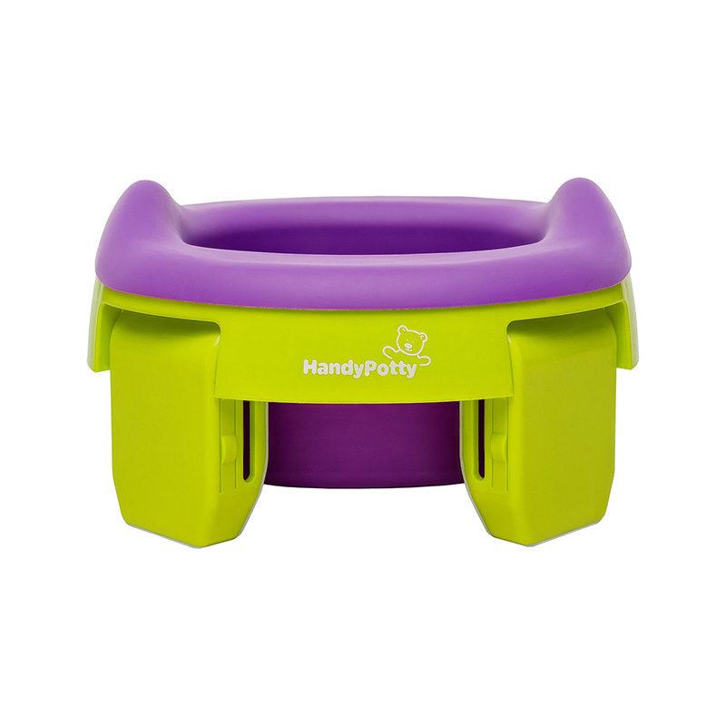 HandyPotty® Универсальная вкладка для дорожных горшков, Фиолетовый-2