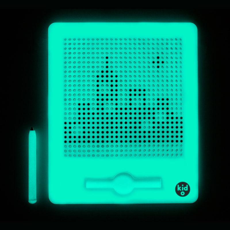 Kid O Доска для рисования магнитная (25×20 см), Светящаяся в темноте