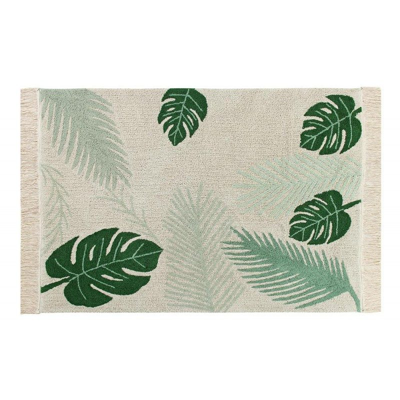 Lorena Canals Ковер тропики, зеленый 140*200