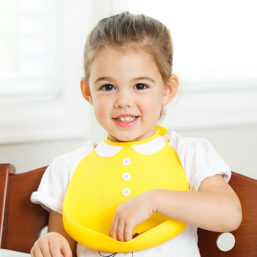 Make My Day Детский нагрудник, желтый Peter Pan