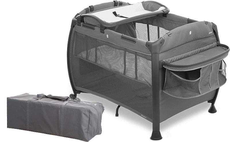 Манеж-кроватка Joovy Room New, серый 3