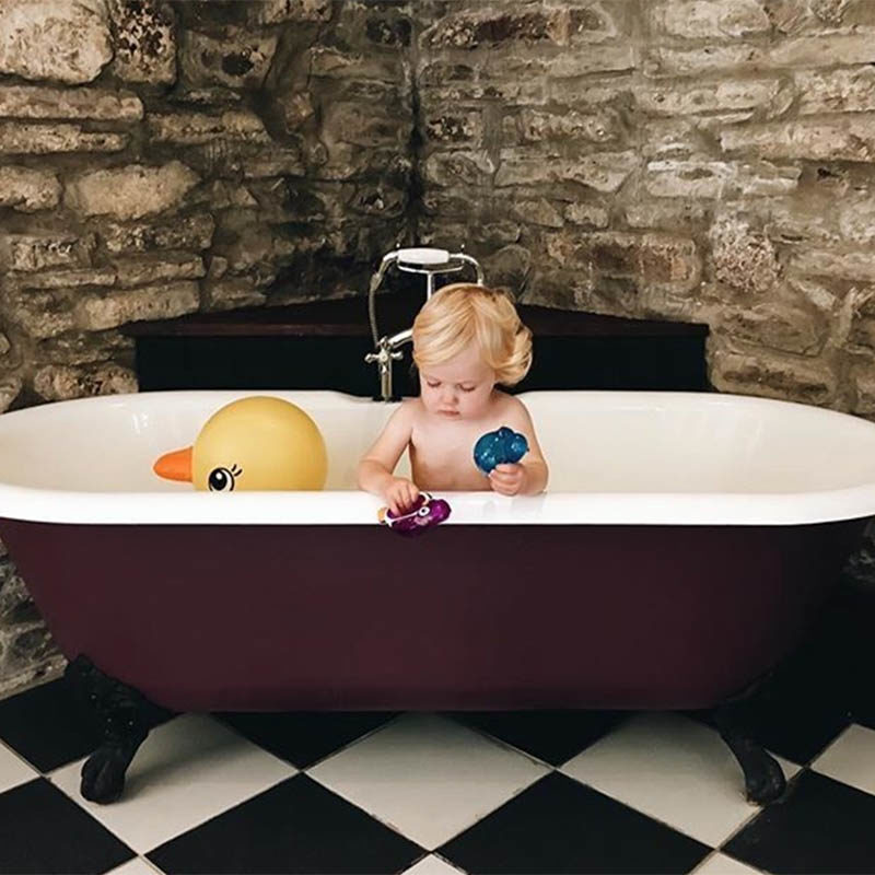 Munchkin Надувная ванночка Утка