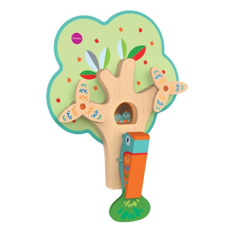 Oribel Vertiplay Игрушка на стену Занятой дятел