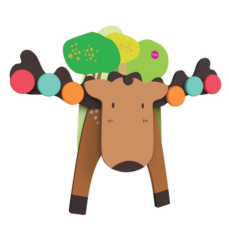 Oribel Vertiplay Игрушка на стену игра на баланс Лось Гуфи