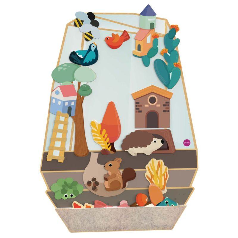 Oribel Vertiplay Игрушка на стену магнитная игра Зачарованный сад