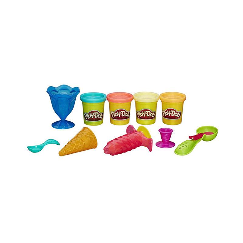 Play-Doh Пластилин Игровой набор Инструменты мороженщика
