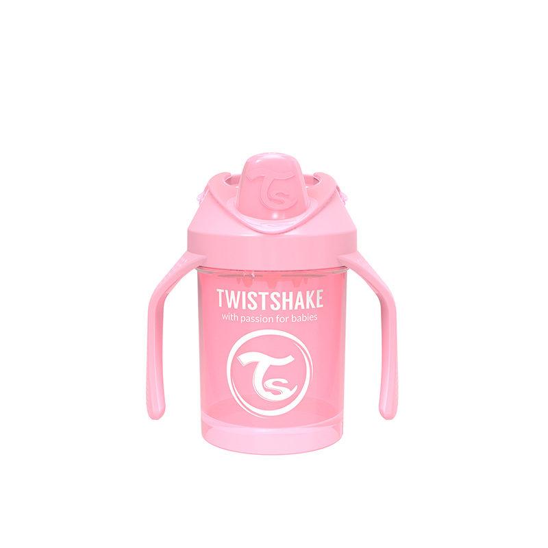 Поильник Twistshake Mini Cup, 230 мл, Пастельный розовый Pastel Pink