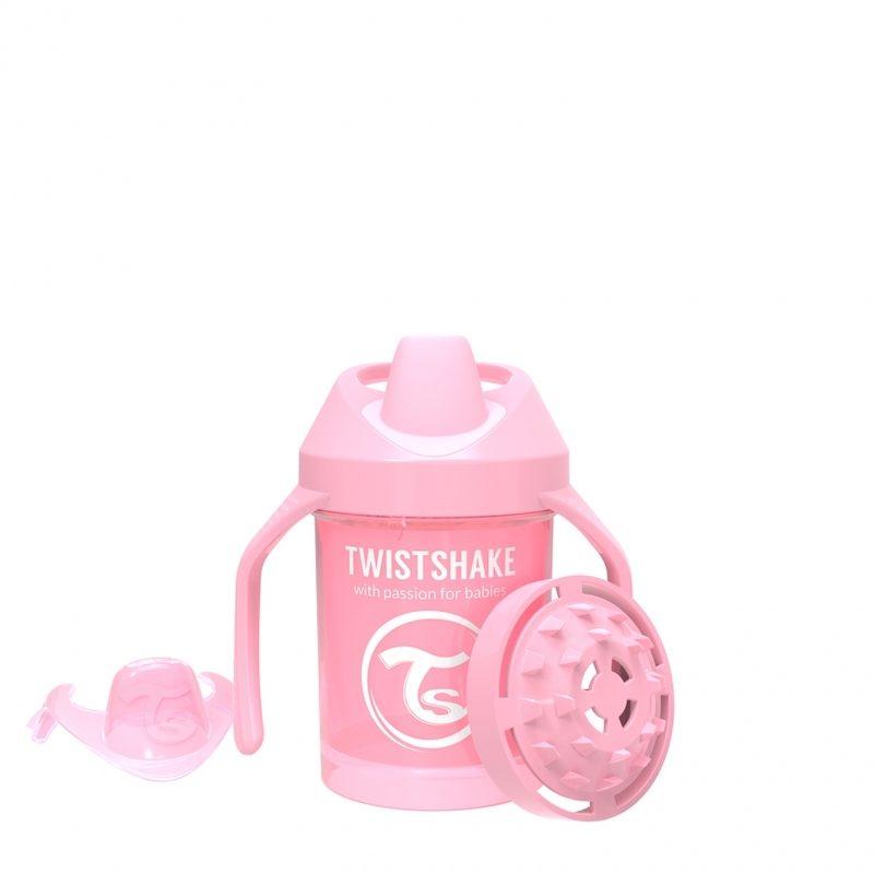 Поильник Twistshake Mini Cup 230 мл. Жемчужный розовый_1